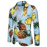 Sumen Men Slim Fit Blazer One Button Shawl Lapel Wedding Formal Suit Sport Jacket
