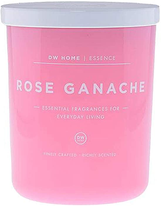 DW Home Single Wick Rose Ganache Scented Candle