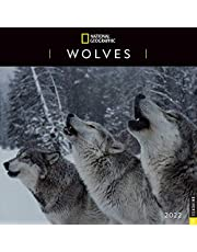 National Geographic: Wolves 2022 Wall Calendar