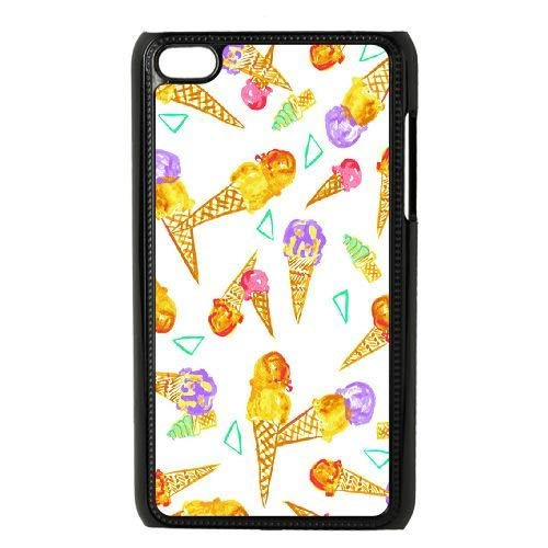 Blacaboer Shop Ice Cream Personalized Hard Case Cover Protector for iPod Touch - 4 Cases Cream Ipod Ice