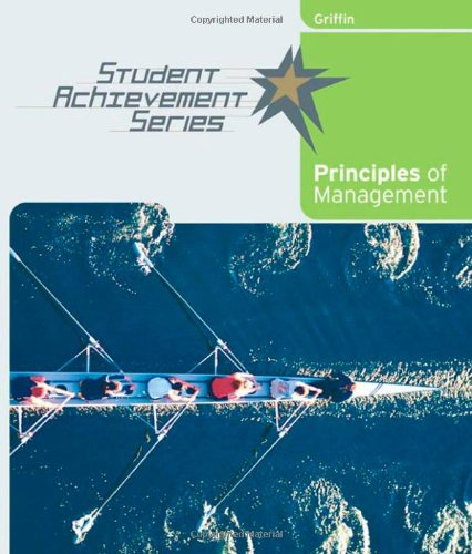 Student Achievement Series: Principles of Management (Student Acheivement)