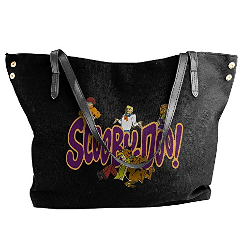 Scooby Animated Cartoon Franchise Doo Dumplings Handbags For Women Black