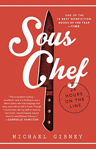 Sous Chef: 24 Hours on the Line cover