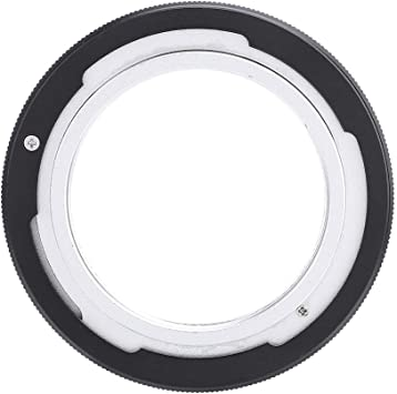 Black A-1, AE-1 Program, F-1, FTB and Others M42 Type 2 Screw Mount Lens for Canon FD Camera V BESTLIFE Alloy Lens Mount Adapter