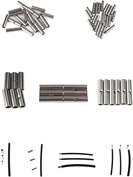 Conector para Tubos Retr/áctiles Conectores De Cable De Protecci/ón Adhesivo De Pared Doble para Tubos Retr/áctiles popchilli Juego De Tubos Retr/áctiles De 380 Piezas