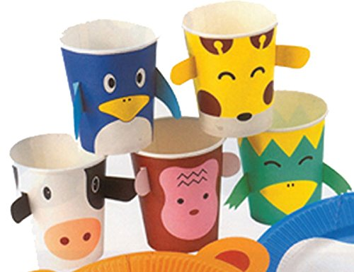 DCI Zoo Animals Paper Cups