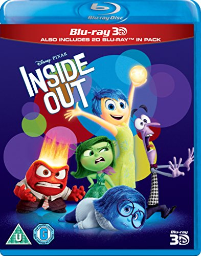 Inside Out  Blu Ray