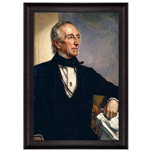 Portrait of John Tyler by George Peter Alexander Healy (10th President of the United States) American Presidents Series Framed Art Print