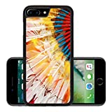 Liili Premium Apple iPhone 7 Plus Aluminum Backplate Bumper Snap Case ID: 27540931 native american indian chief headdress