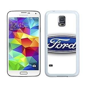 Ford logo 3 White New Personalized Custom Samsung Galaxy S5 I9600 Case
