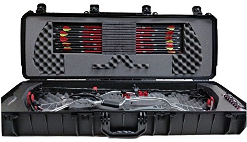 14a1bf62ab3 Amazon.com   Case Club Waterproof Parallel Limb Compound Bow Case with Silica  Gel to Help Prevent Rust   Sports   Outdoors