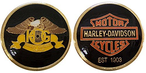 Group Challenge Coin - HOG Harley Owners Group Challenge Coin / Logo Poker / Lucky Chip