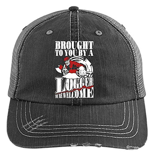 Brought to You by A Logger Hat, I'm A Logger Trucker Cap (Trucker Cap - Black) ()