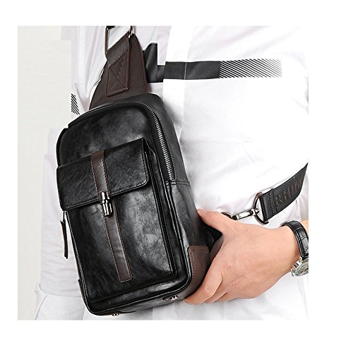 Mens Sports Package Single Bag Bag Messenger Cycling Bag A Leather A Shoulder Bags Chest t6gqAPn
