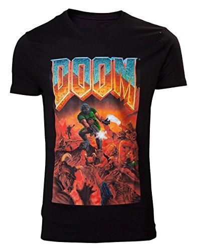 Difuzed Doom T-Shirt Classic Boxart Size M Shirts