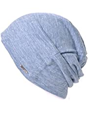 Linen Mens Summer Beanie - Slouchy Lightweight Knit Hat Cap Made in Japan by Casualbox