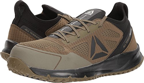 l Terrain Work Sage/Black 7 D US (Safety Toe Athletic Oxford)