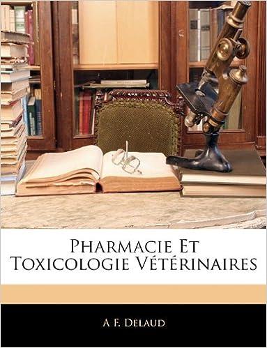 Livre gratuits en ligne Pharmacie Et Toxicologie Veterinaires epub, pdf