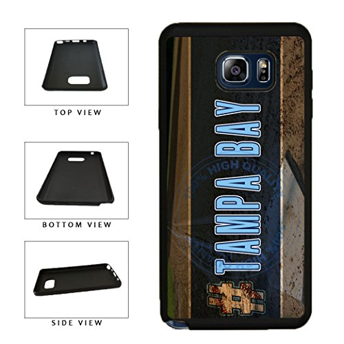 BleuReign(TM) Hashtag Tampa Bay #TampaBay Baseball Team TPU RUBBER SILICONE Phone Case Back Cover For Samsung Galaxy S8 Plus