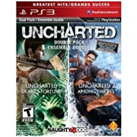 Sony 98375 Uncharted 1&2 Dual Pack for Playstation 3 - NEW - Retail - 98375