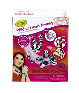 Crayola Jewelry Boutique Wild at Heart Theme Pack