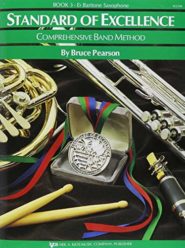W23XR - Standard of Excellence Book 3 Eb Baritone Saxophone