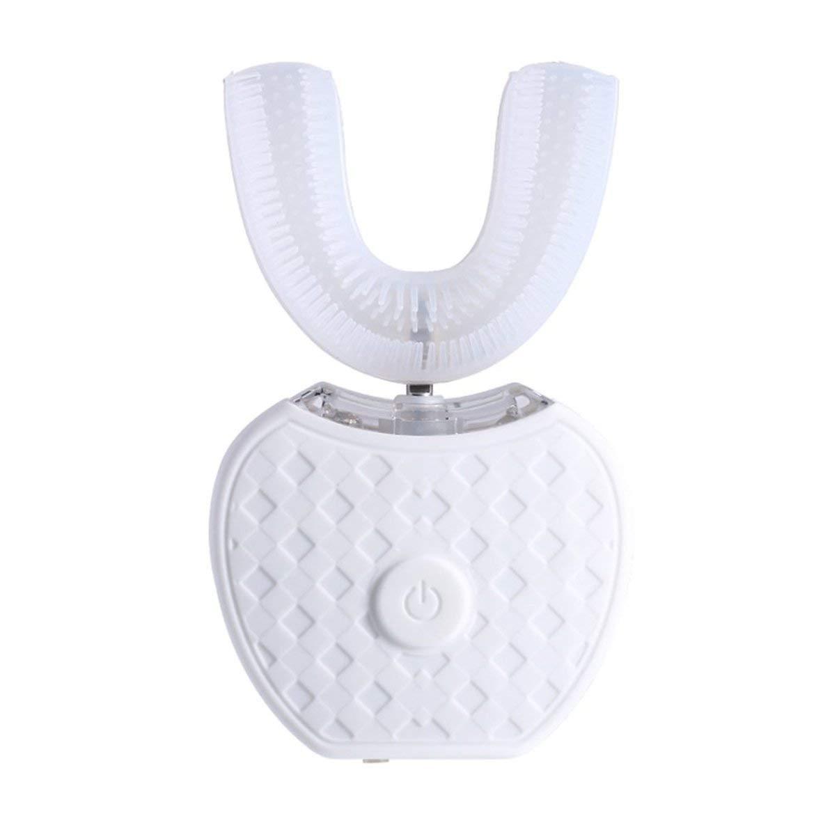 Cepillo de dientes electrico, Full-automatic Frecuencia variable 360 ° Cepillo de dientes eléctrico, ultrasónico Dientes Dispositivo de blanqueamiento con ...