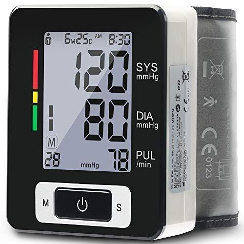 Wrist Blood Pressure Monitor - Blood Pressure Cuff Wrist, 5.
