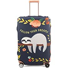 Madifennina Spandex Travel Luggage Protector Suitcase Cover Fit 23-32 Inch Luggage