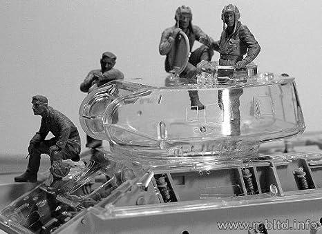 Masterbox 1:35 Soviet Tank Crew 1943-1945 MAS3568