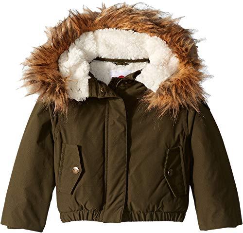Appaman Kids Baby Girl's Extra Soft Lined Wilderness Jacket Faux Fur Trim Hood (Toddler/Little Kids/Big Kids) Olive 3 -