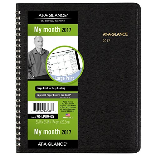 GLANCE Monthly Planner Appointment 70 LP09 05