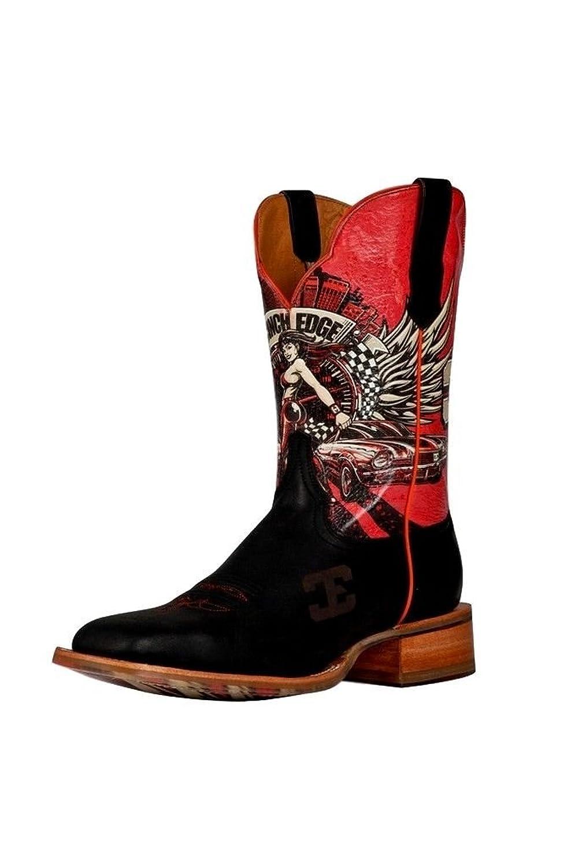 Cinch Men's Edge Race Ready Cowboy Boot Square Toe - Cem 108