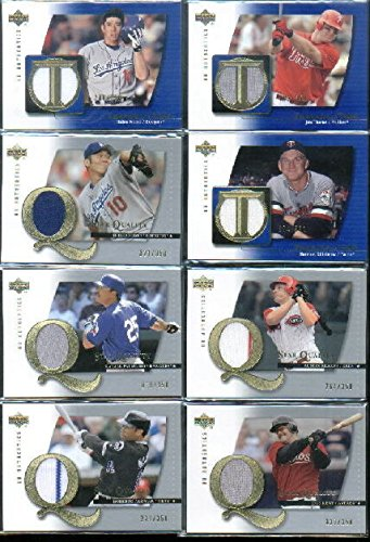 2003 UD Authentics Threads of Time #HM Hideo Nomo Game-Worn Jersey Card Serial - Authentic Jersey Hm