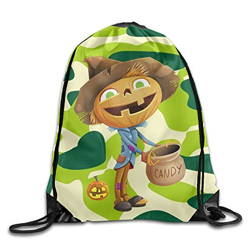2018 Halloween Carnival Drawstring Bags Leisure Backpack Sport Bag For Men & Women