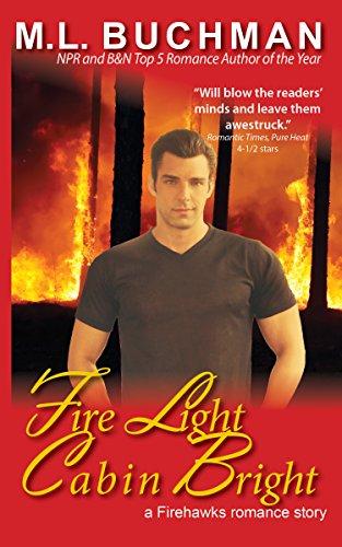 book cover of Fire Light Cabin Bright