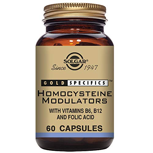 Solgar – Homocysteine Modulators, 60 Vegetable Capsules