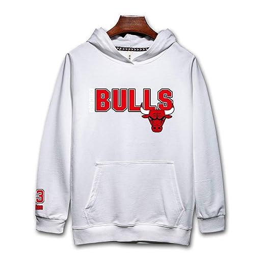 Chicago Bulls Sudadera con capucha Hombres Jóvenes Name ...
