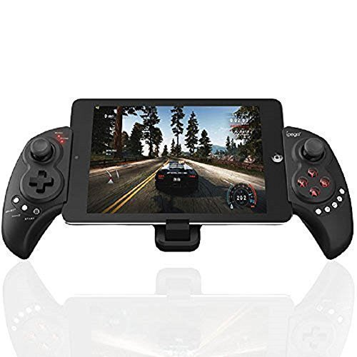 Mobile Game Controller, PowerLead Wireless Gamepad Gaming Trigger Bluetooth Game Controller Joystick for 5-10