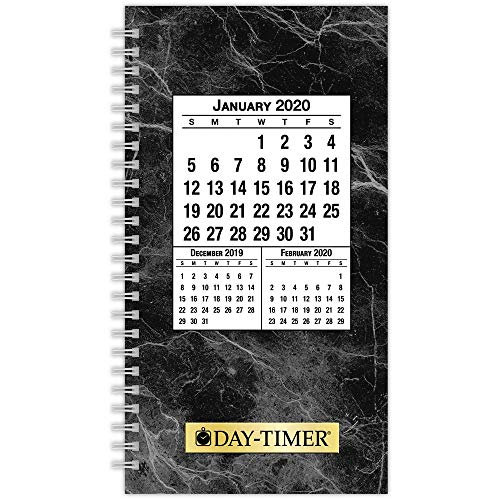 (Day-Timer 2020 Daily Planner Refill, Two Pages Per Day, 3-1/2