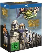 Star Wars: The Clone Wars - Komplettbox Staffel 1-5 [Blu-ray]