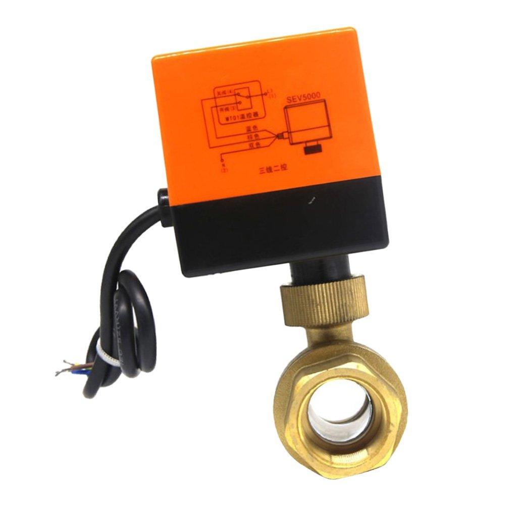 MagiDeal 1 or 3 Way DN15 20mm Water Hose Connector Adaptor Splitter Garden Waterpipe Bath Shower Flow Control Valves - 1 Way