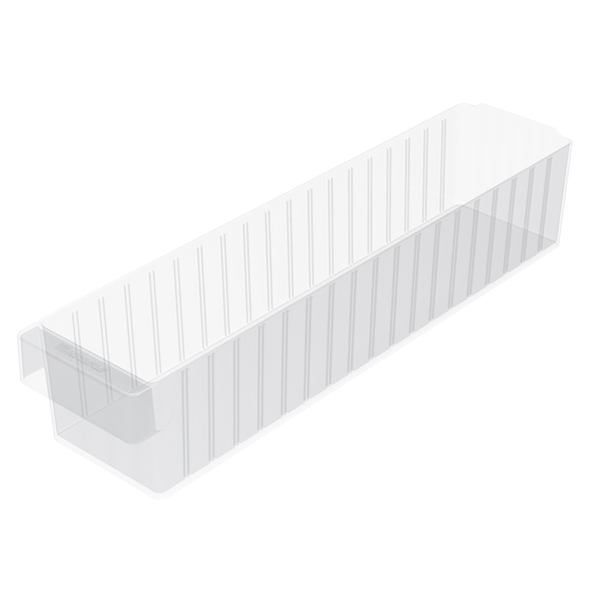 Akro-Mils 31164 23-7/8-Inch L by 5-9/16-Inch W by 4-5/8-Inch H AkroDrawer Plastic Storage Drawer, Crystal Clear, Case of 6