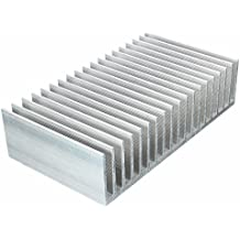 Cooling Module, ELEGIANT 7.1x3.9x1.8inch Aluminum Heat Sink Heatsink Cooler Fin for High Power LED Amplifier Transistor