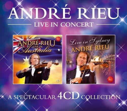 CD : Andre Rieu - Andre Rieu Live in Concert (United Kingdom - Import, 4 Disc)