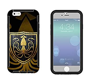 524 - Game of Thrones Sigil House Martell Symbol Emblem Design iphone 5 5S Full Body CASE With Build in Screen Protector Rubber Defender Shockproof Heavy Duty Builders Protective Cover