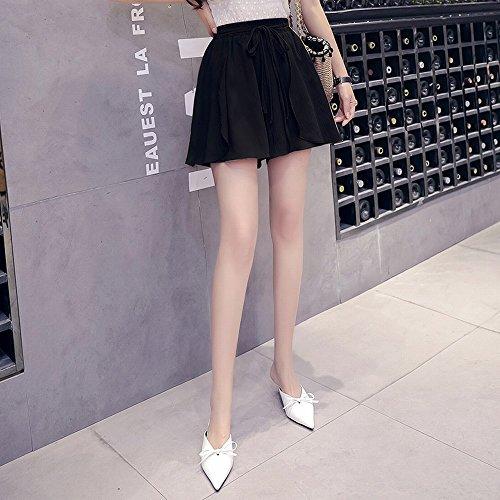 UNE Sangle Couleur Shorts Larges Sauvages Sauvages Sangles Mousseline DEED Lache Pure Femelle de de de Larges qC4xvwSZ