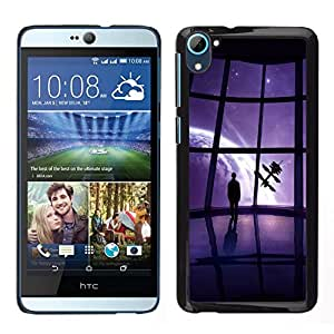 // PHONE CASE GIFT // Duro Estuche protector PC Cáscara Plástico Carcasa Funda Hard Protective Case for HTC Desire D826 / Mass Game View /