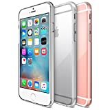 iPhone 6S Case, Maxboost [Liquid Skin] iPhone 6 Case [0.4mm] Soft Flexible Extremely Thin Gel TPU Skin *Feels Like Nothing There* Scratch-Proof iPhone 6 (2014) / 6S 4.7' (2015) Cover -Ultra Clear