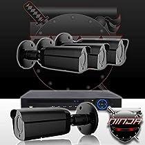 Ninja 4 Megapixel IP Bullet Camera 4CH Kit